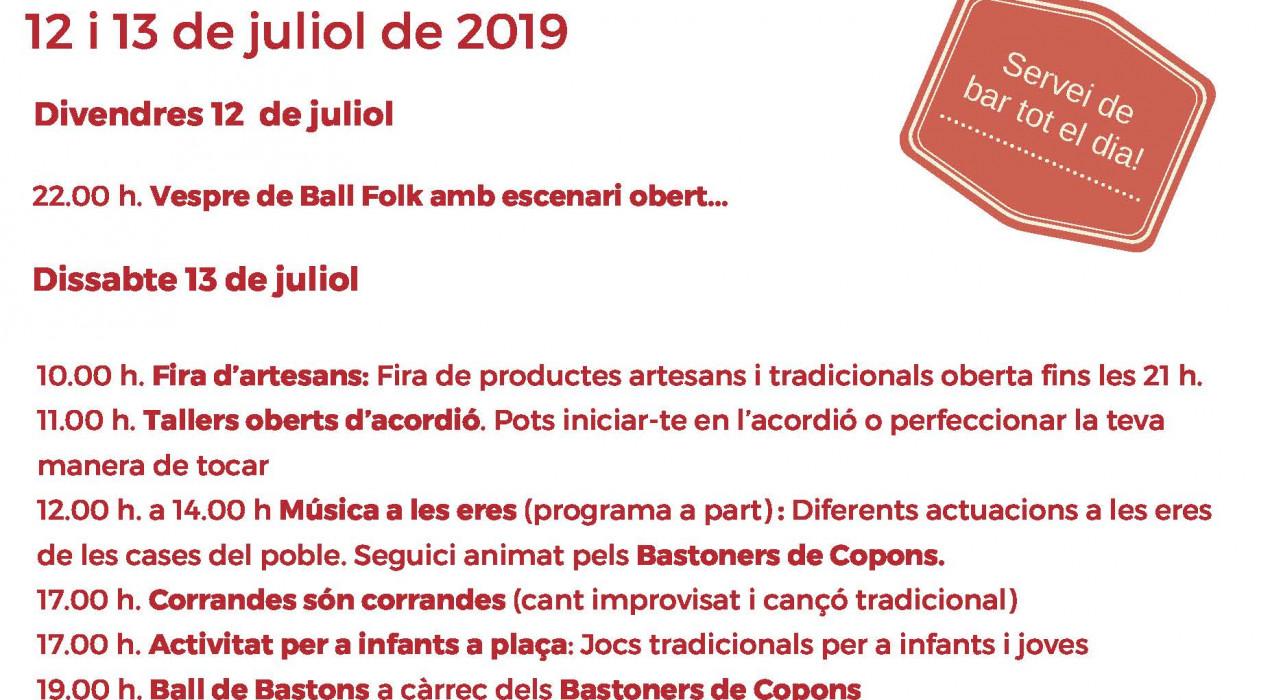 35ª TROBADA D'ACORDIONISTES DE MAÇANERS