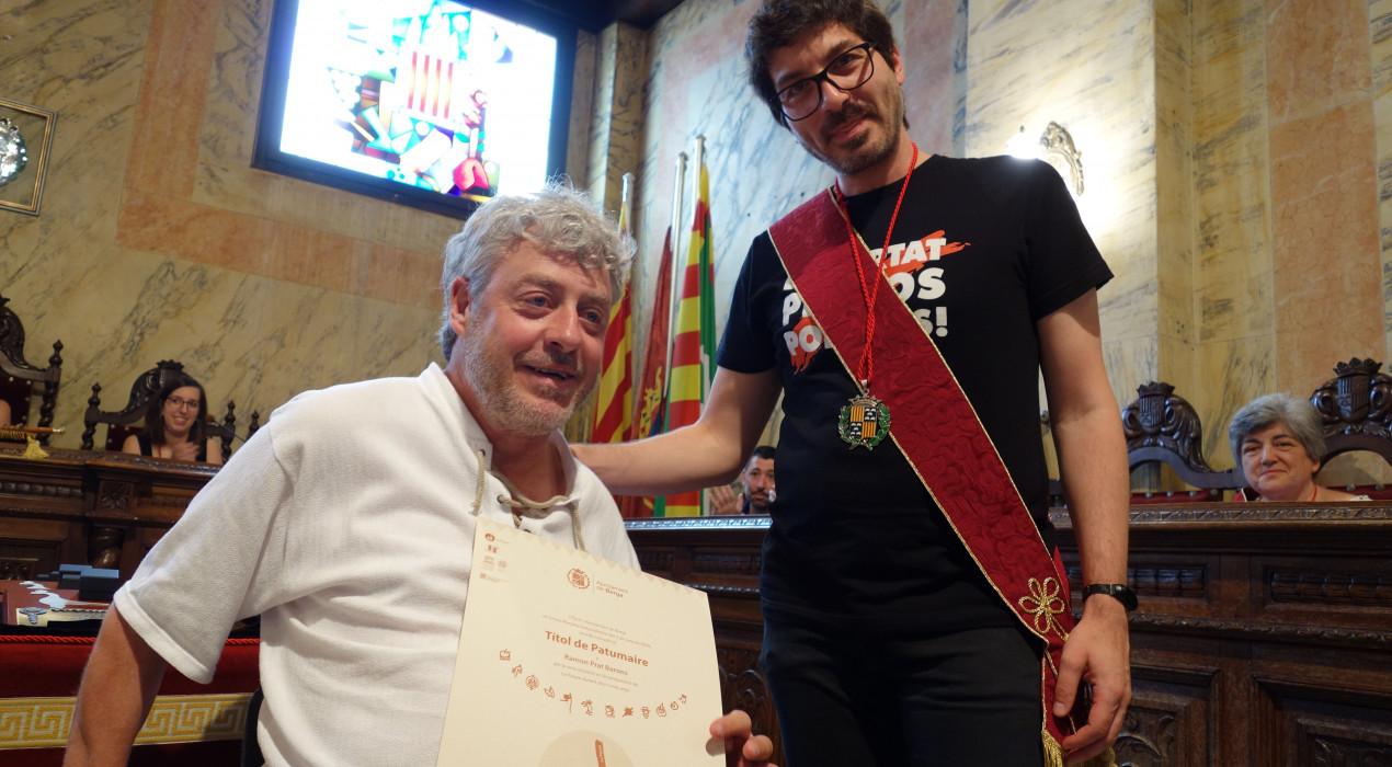 """Ramon Prat, títol de Patumaire per sorpresa: """"Ho vaig saber per la tele"""""""