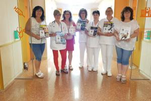 Ginkgo se subscriu a diverses revistes mensuals i les dona a l'hospital de dia d'oncologia de Berga