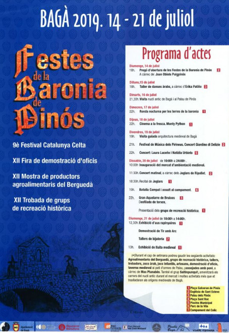 Festa de la Baronia de Pinós 2019 @ Bagà