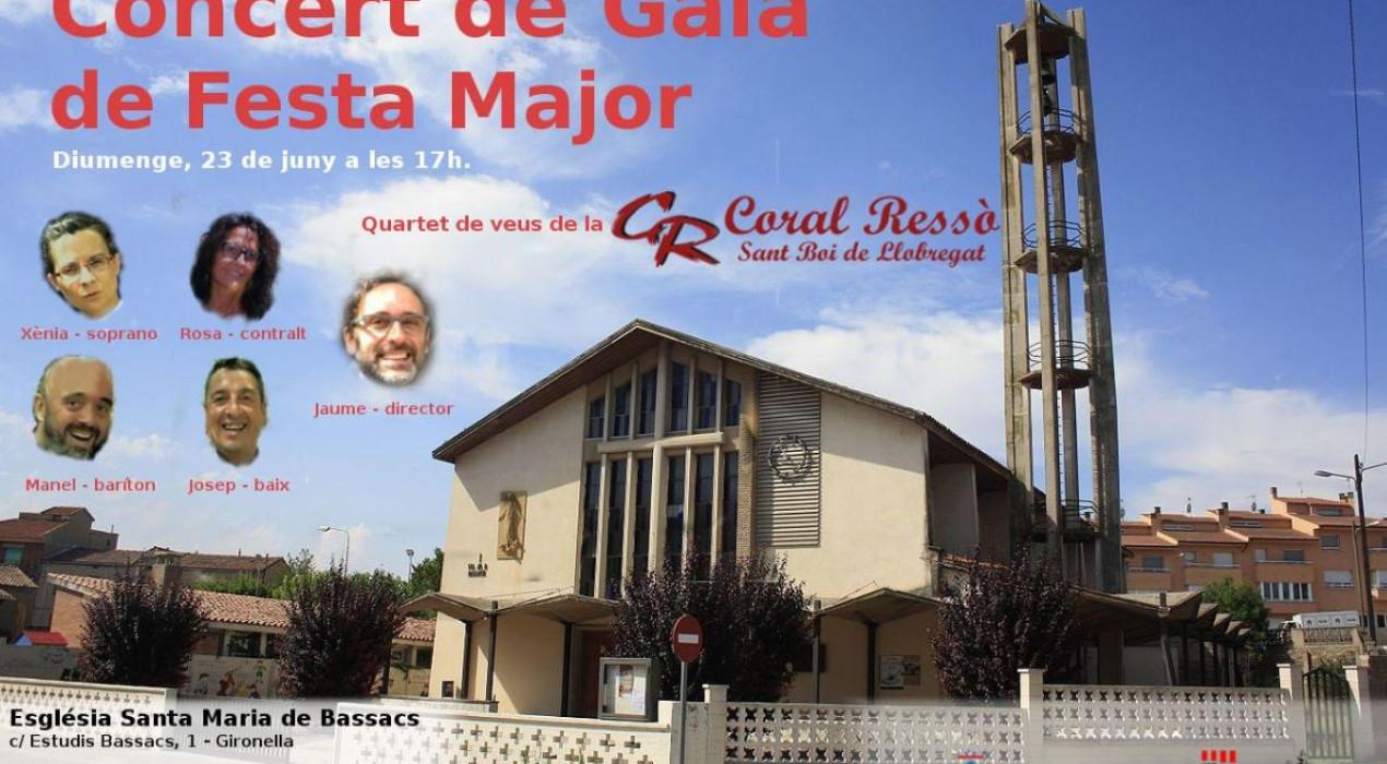 Concert de gala de Festa Major de Cal Bassacs
