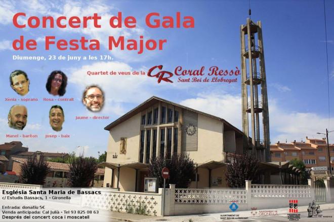 Concert de gala de Festa Major de Cal Bassacs @ Església Santa Maria de Bassacs