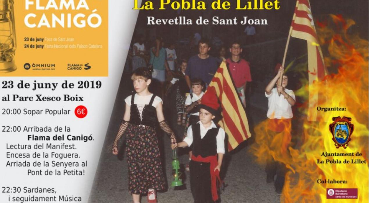Revetlla Sant Joan LA POBLA DE LILLET 2019