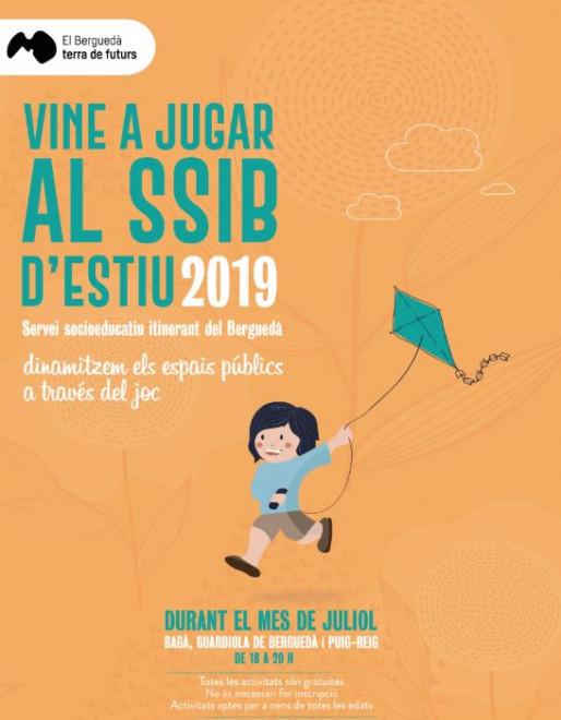 Vine a jugar al SSIB d'estiu 2019:  BERGA @ Passeig de la Indústria (BERGA)