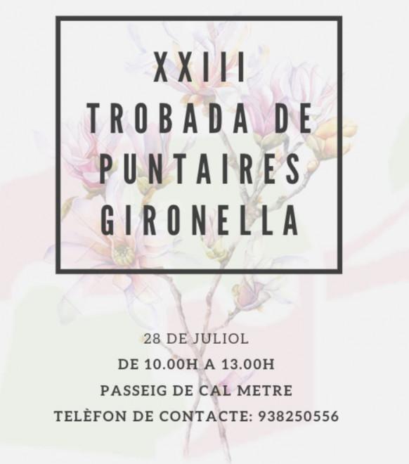XXII Trobada de Puntaires @ Passeig de Cal Metre (GIRONELLA)