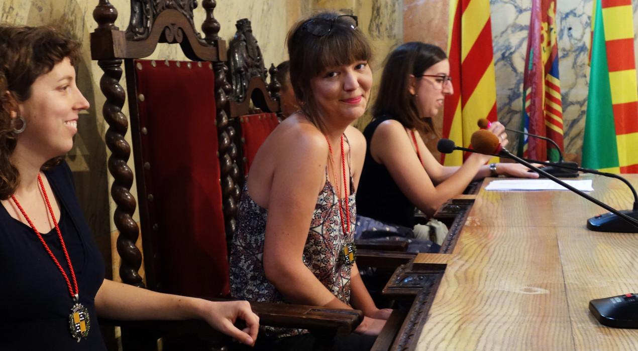 L'alcaldessa, afònica, cedeix el seu lloc a la regidora Roser Valverde en l'acte dels títols de Patumaire