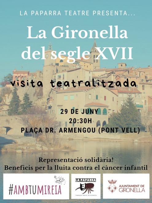 Visita teatralitzada: La Gironella del Segle XVII @ Plaça Doctor Armengou (GIRONELLA)