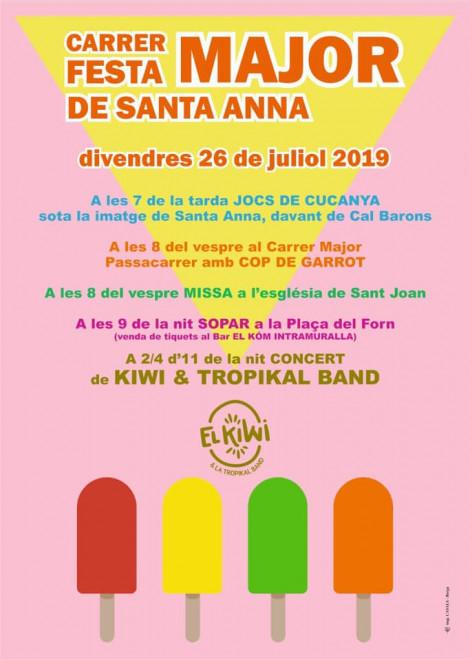 Festa de Santa Anna 2019 @ Berga