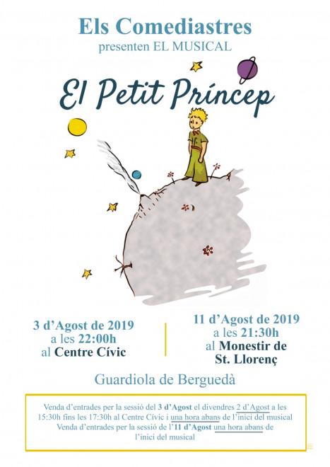 "Musical ""El petit príncep"" @ Monestir de Sant Llorenç (GUARDIOLA DE BERGUEDÀ)"
