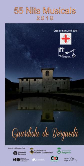 Nits musicals 2019: COBLA BERGA JOVE, QUERALT AYMERICH, ESTHER PINYOL i FERRAN FRAUCA @ Monestir de Sant Llorenç (GUARDIOLA DE BERGUEDÀ)