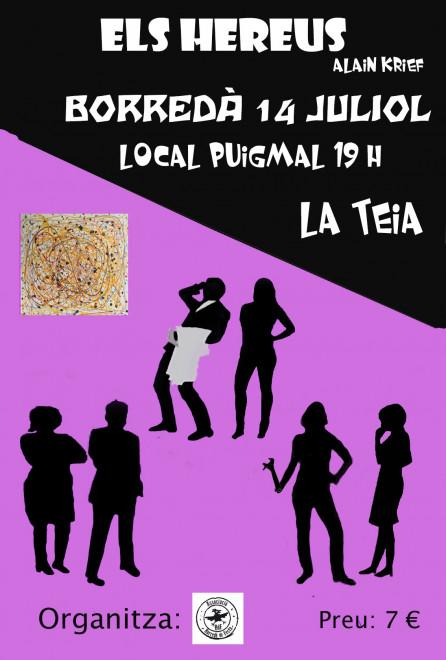 """Teatre """"ELS HEREUS"""" @ Local Puigmal (BORREDÀ)"""