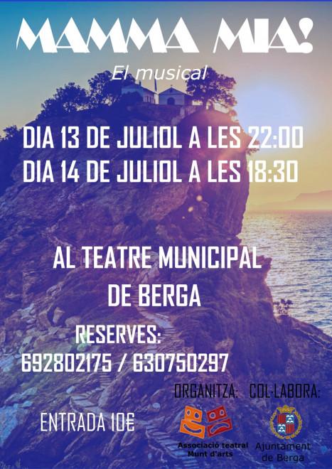 Mamma mia! El musical @  Teatre Municipal de Berga