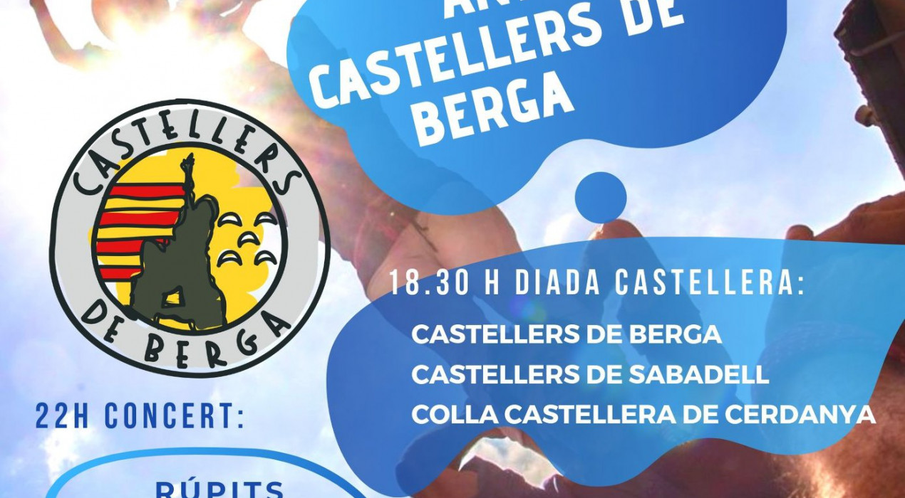 7è aniversari Castellers de Berga