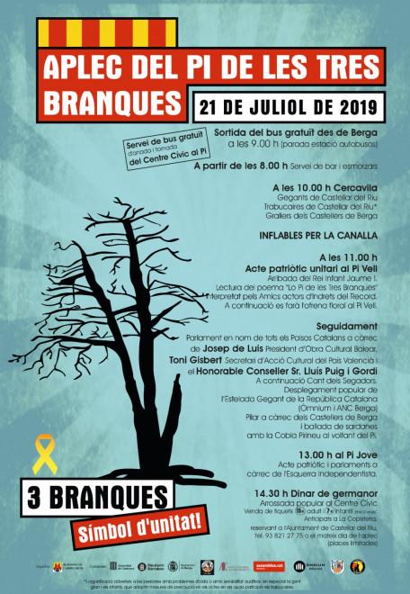 Aplec del Pi de les tres branques 2019 @ Pla de Campllong (CASTELLAR DEL RIU)