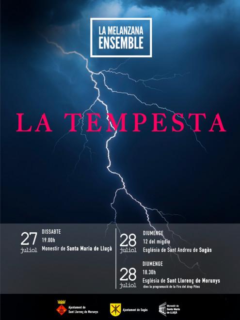 Concert LA MELANZANA ENSEMBLE @ Església de Sant Andreu de SAGÀS
