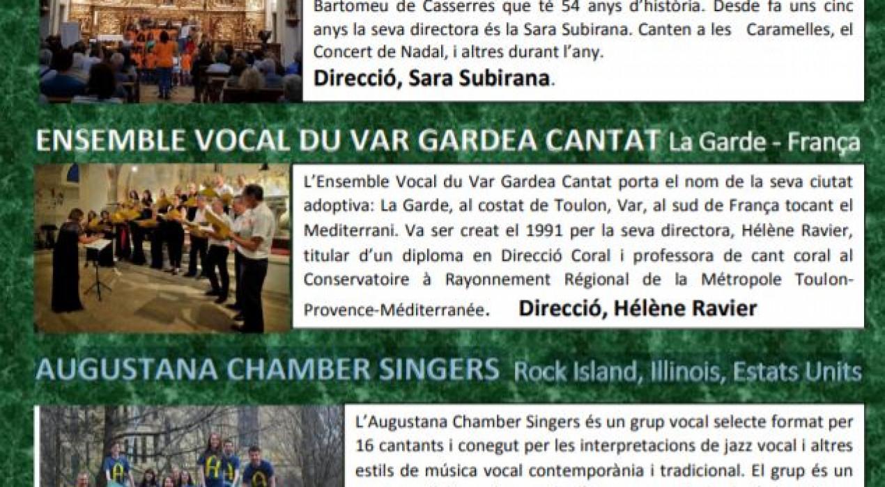 Concert Internacional d'estiu de CASSERRES 2019