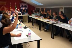 Les agrupacions d'electors, amb la paella pel mànec al Consell Comarcal del Berguedà