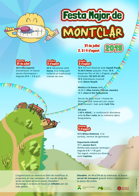 Festa Major de Montclar 2019 @ Montclar