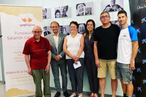 La marxa 4 Cims i l'Obra Social La Caixa donen 3.000€ a la Fundació Salarich Calderer de Bagà