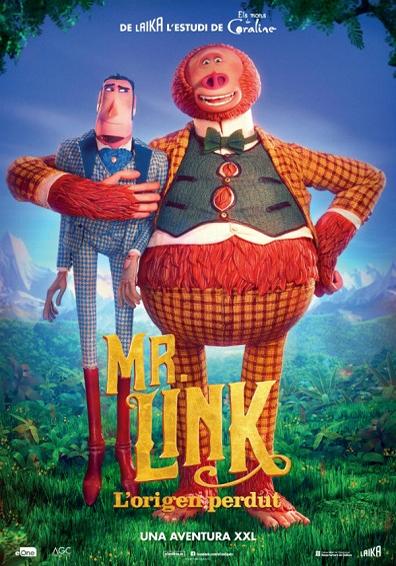 Cinema a Berga: MR. LINK. L'ORIGEN PERDUT @ Teatre Patronat de Berga