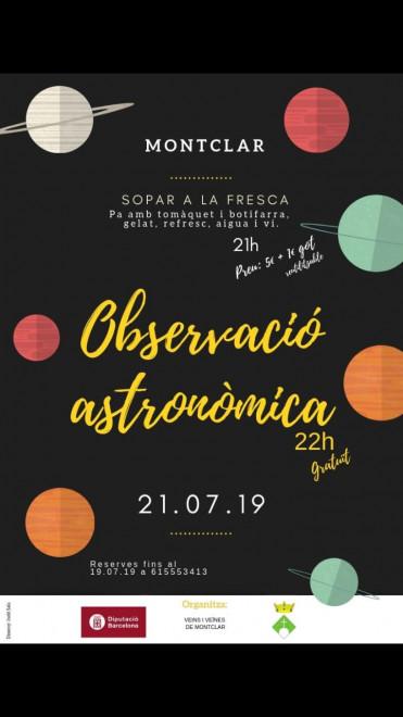 Observació astronòmica @ Montclar
