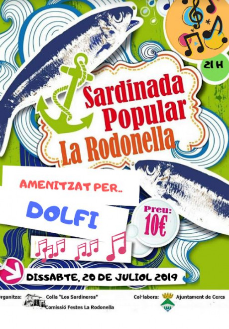 Sardinada popular a la Rodonella @ La Rodonella