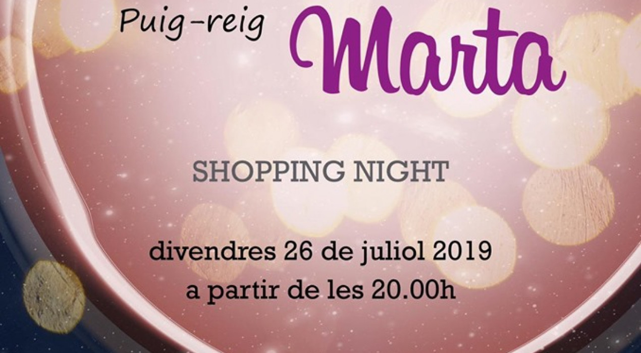 Shopping night a Puig-reig 2019