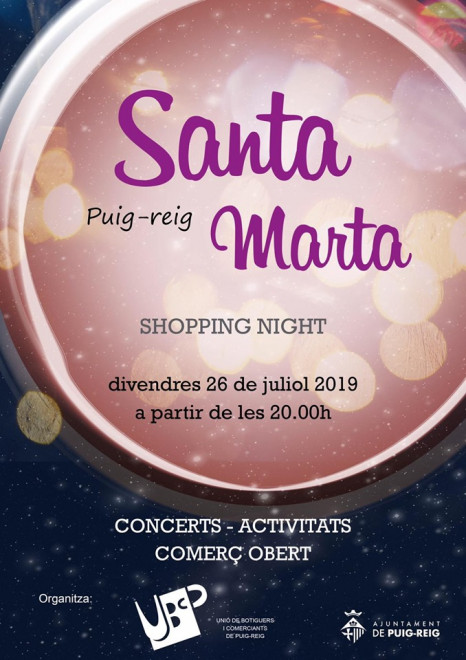 Shopping night a Puig-reig 2019 @ Puig-reig