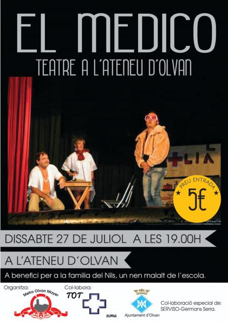 Teatre solidari: EL MÉDICO @ Ateneu d'Olvan