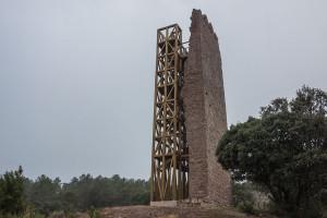 Puig-reig fa visitable la Torre de Merola i recupera un mirador desaparegut durant sis segles