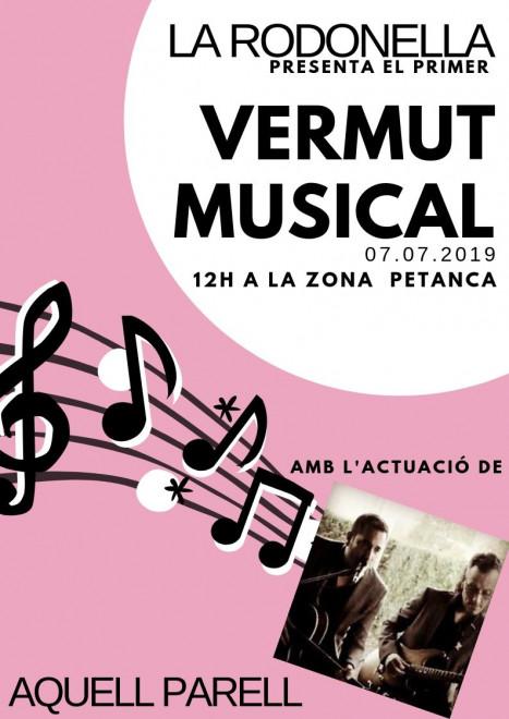 Vermut musical a la Rodonella @ Zona Petanca (la Rodonella)