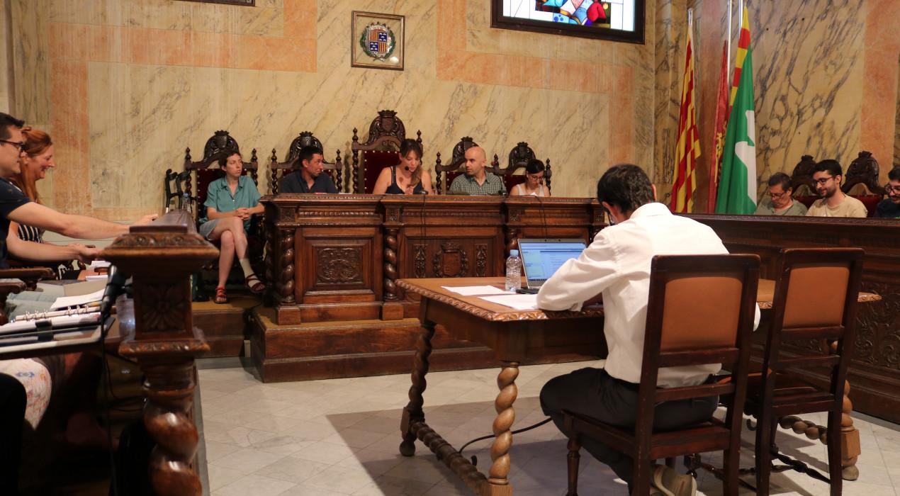 El ple de l'Ajuntament de Berga aprova un pla de millora urbana que permetria la construcció de l'estació d'autobusos