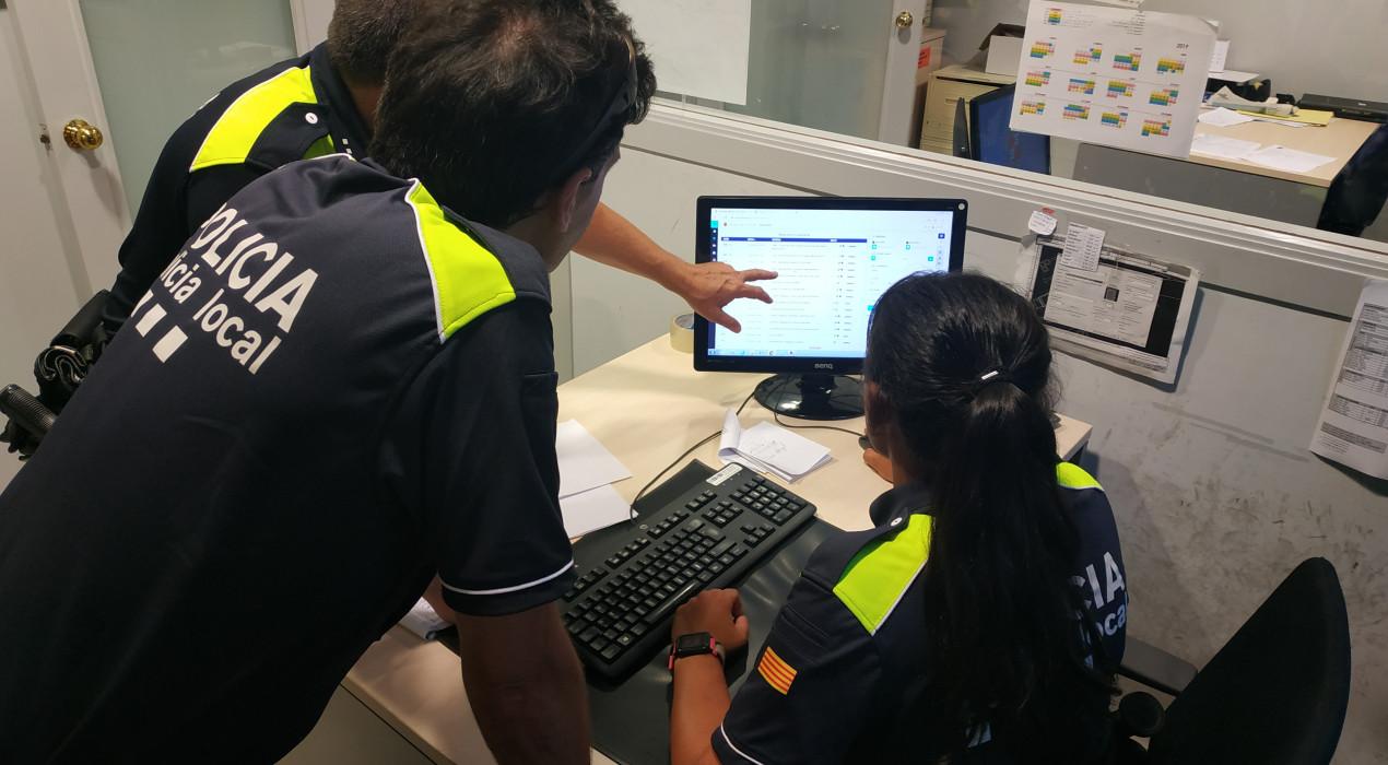 La Policia Local de Berga posa en marxa un sistema informàtic per registrar els serveis realitzats pels agents durant l'any