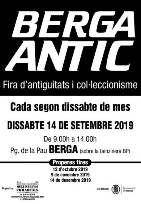 BERGA ANTIC · setembre 2019 @ Passeig de la Pau (BERGA)