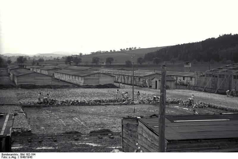 KZ Mauthausen, Aufbau des Lagers Gusen