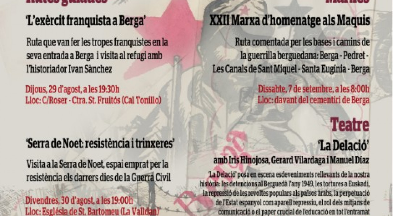 Ruta guiada: Serra de Noet, resistència i trinxeres