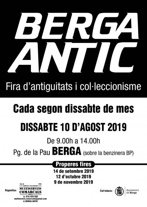 BERGA ANTIC · agost 2019 @ Passeig de la Pau (BERGA)