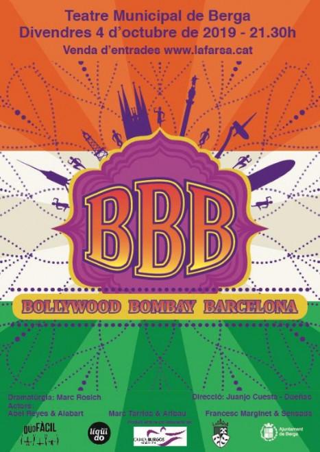 TEATRE: Bollywood Bombay Barcelona @ Teatre Municipal de Berga
