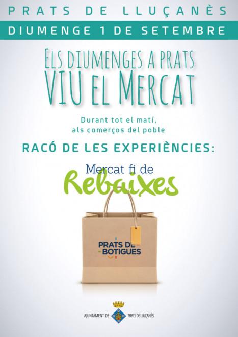 Mercat Fi de Rebaixes @ Prats de Lluçanès