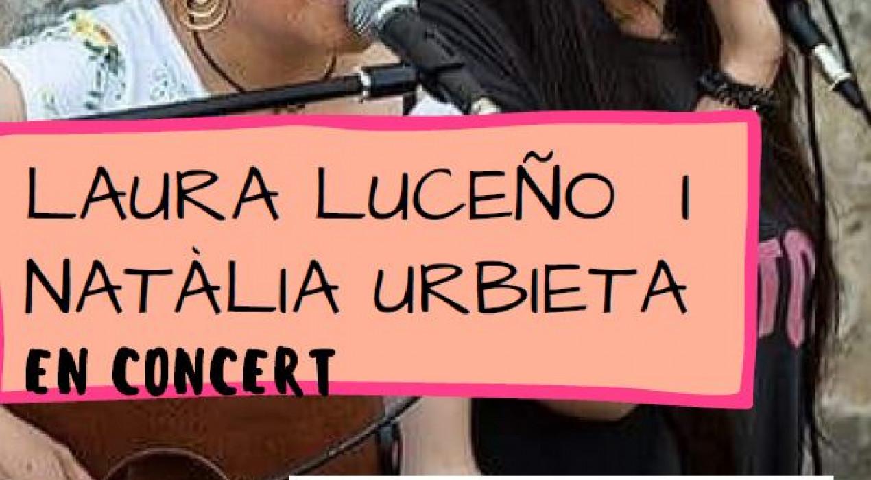 Concert LAURA LUCEÑO i NATÀLIA URBIETA