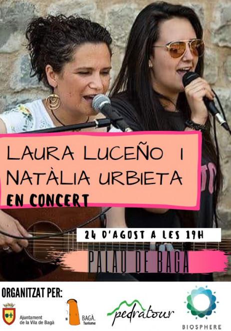 Concert LAURA LUCEÑO i NATÀLIA URBIETA @ Palau de Bagà
