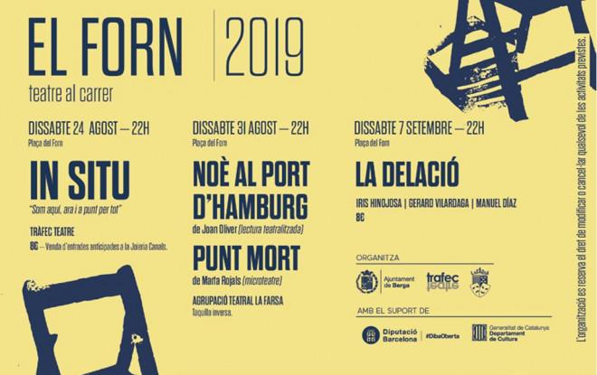 El Forn 2019 · teatre al carrer @ Plaça del Forn (BERGA)
