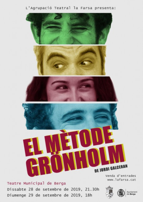 TEATRE: El mètode Grönholm @ Teatre Municipal de Berga