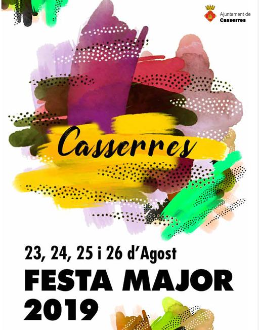 Festa Major de Casserres 2019 @ Piscina Municipal de Casserres