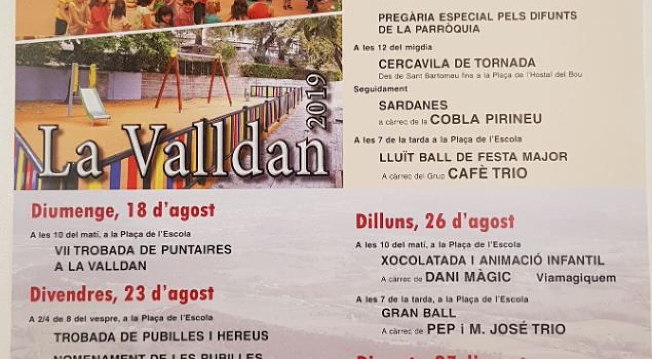 Festa Major de la Valldan 2019