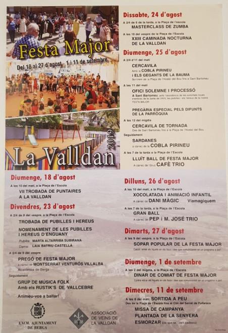 Festa Major de la Valldan 2019 @ La Valldan