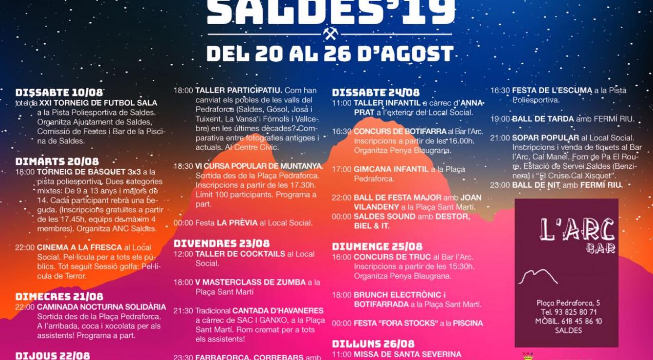 Festa Major de Saldes 2019