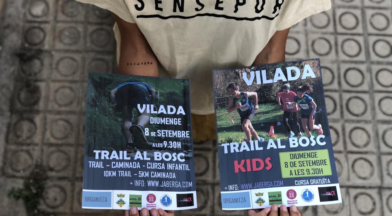 El club d'atletisme JAB Berga i l'Ajuntament de Vilada, destinaran el 100% dels beneficis de 'Trail al bosc' al col·lectiu solidari 'Sense Por'