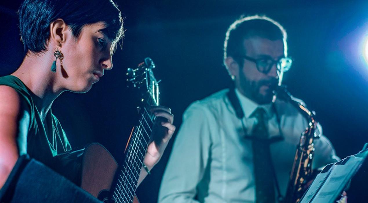 Concert duo Saxo & Guitar