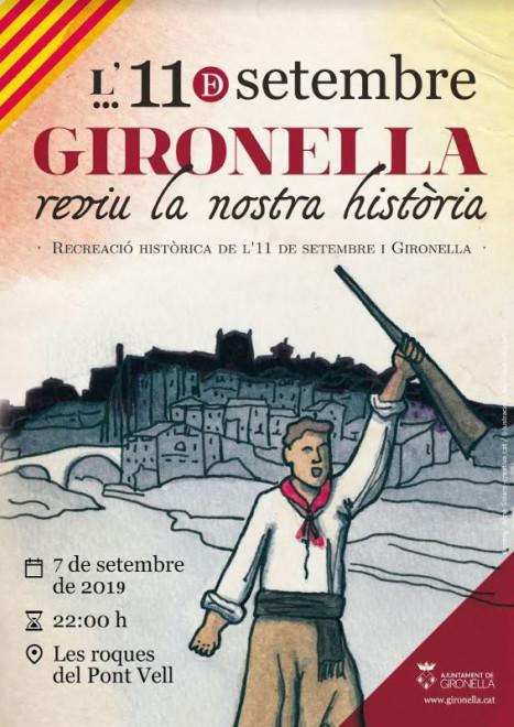 L'11 de setembre a Gironella (2019) @ Roques del Pont Vell (GIRONELLA)